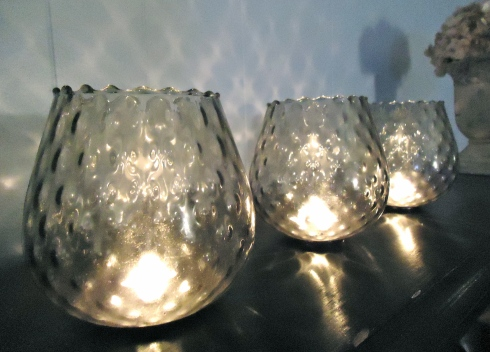 Ceiling Fan Candle Holders