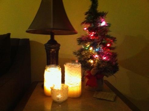Cozy Candles Lit