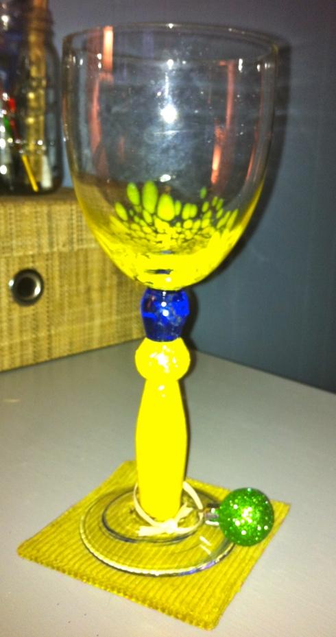 Ornament Wine Charm