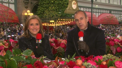 Meredith Viera and Matt Lauer