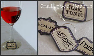 Scrapbook Wine Charms