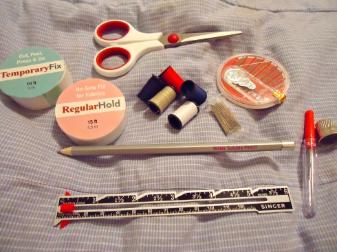 Sewing Kit Content