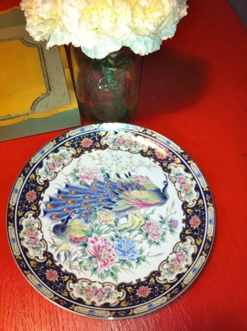 Antique Dinner Plate