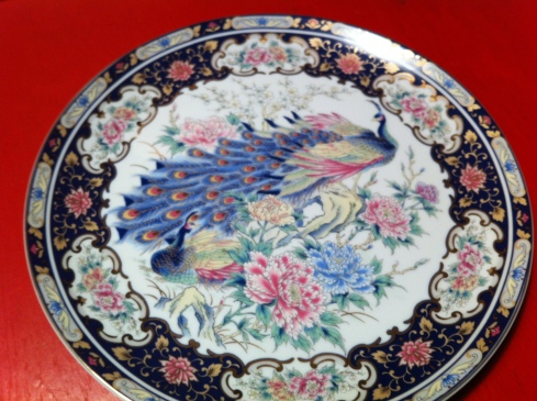 Antique Dinner Plate 2