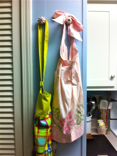 Drawer Pull Kitchen Hooks