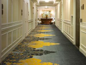 The Drake Hotel hallway