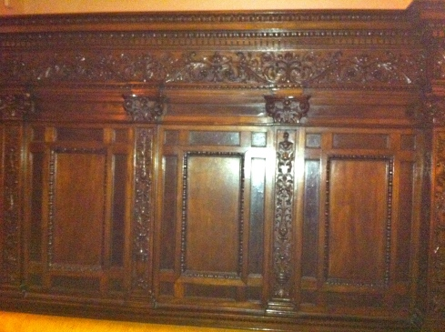 The Drake Hotel Carved Wood