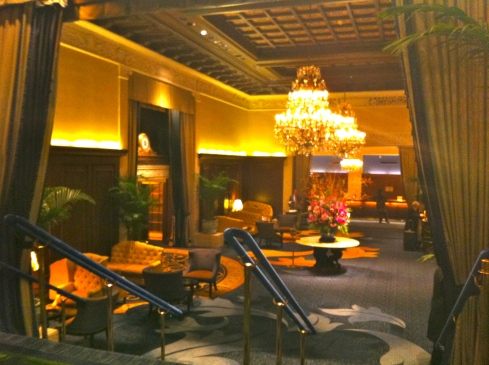 The Drake Hotel lobby