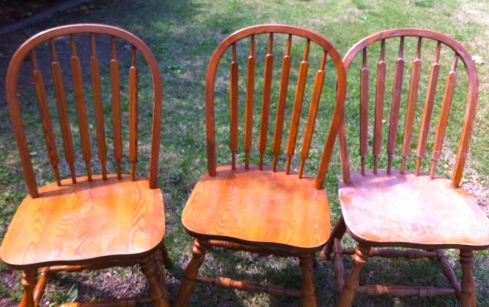 Chairs Before