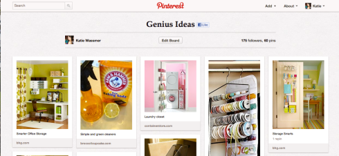 Genius Ideas Pinterest