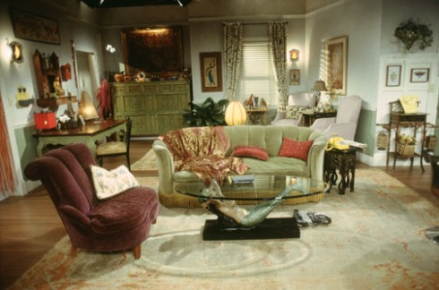 Phoebe's Apartment on Friends