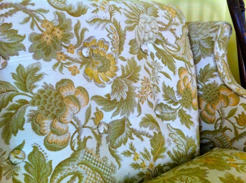 Couch Patterned Fabric