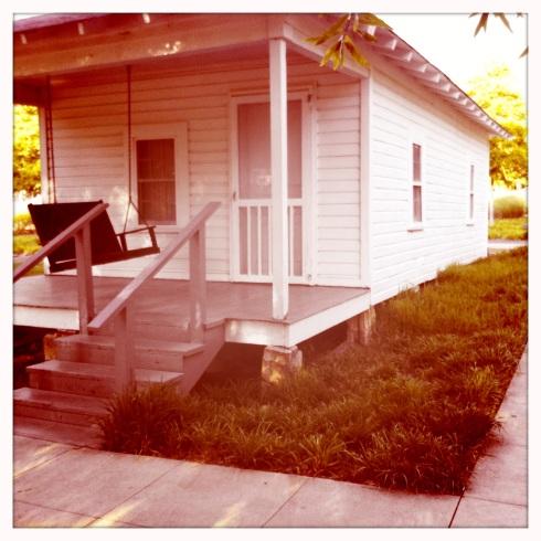 Elvis Presley Front Porch