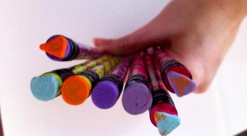 DIY Pencil Stamps