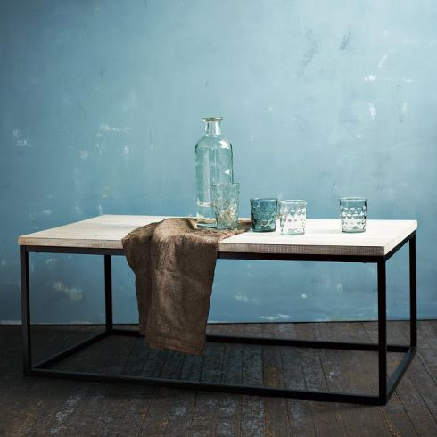 West Elm Box Frame Coffee Table
